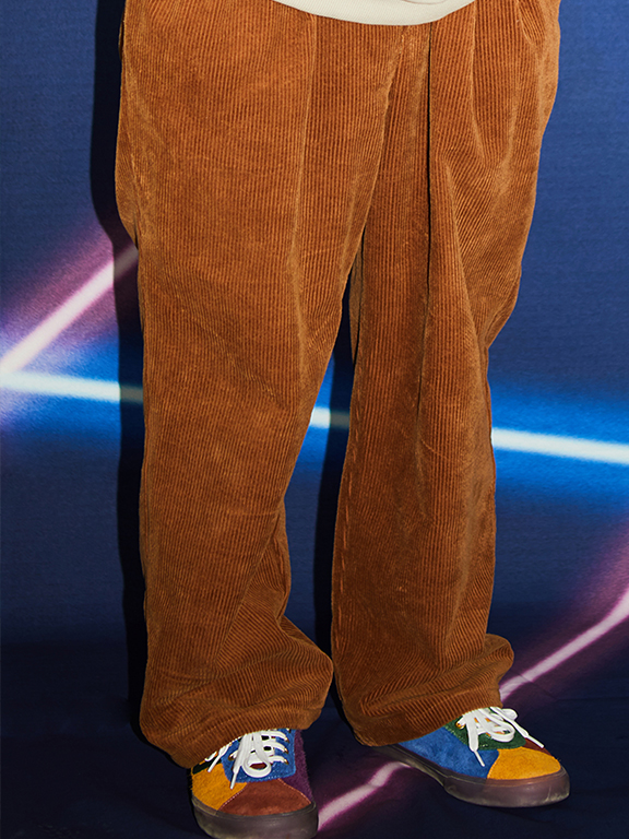 CORDUROY PANTS(BROWN)